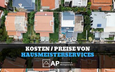 Hausmeisterservice Preise / Preisliste: Das kostet der Service